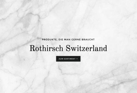 Rothirsch Switzerland
