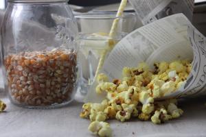 Spicy Popcorn: Knabbern erlaubt - trotz Fastenzeit und Detox-Hype...